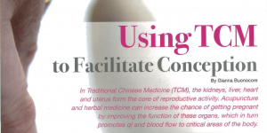 Using TCM to facilitate conception – an article featured in The Parents' Journal