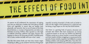 The effect of food intolerance on behaviour – an article featured in DB Living