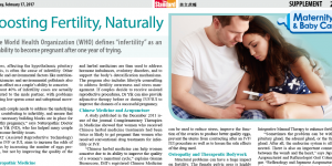 Boosting fertility, naturally – an article featured in The Standard