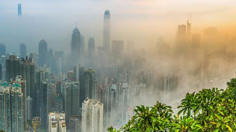 Surviving Hong Kong air pollution