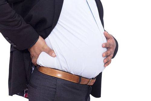 How belly fat affects your performance at work