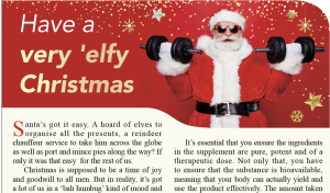 Have a very 'elfy Christmas – an article featured in The Standard