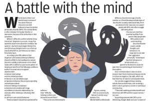What is borderline personality disorder, and how can you help friends and family cope? – an article featured in young post, South China Morning Post